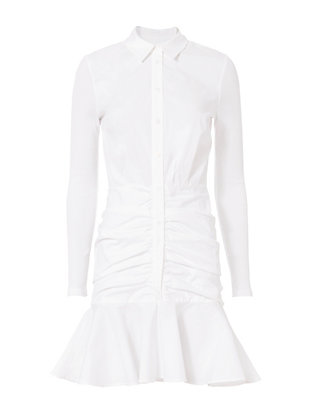 Century Baby Rib Shirtdress