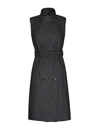 Derek Lam Denim Trench Dress