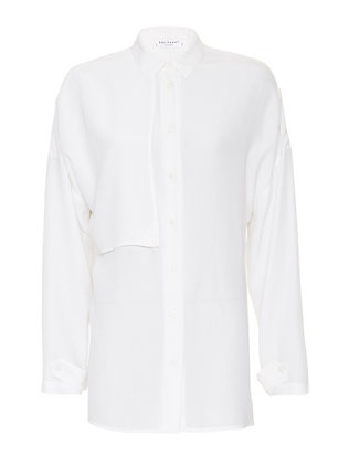 Equipment Jaime Side Panel Blouse