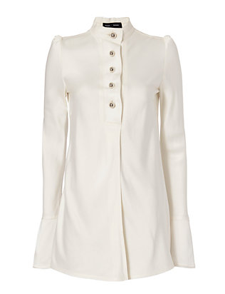 Proenza Schouler Button Blouse