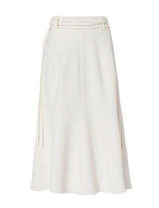 Slit Skirt: Off White