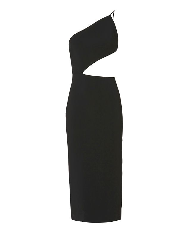 Cushnie Et Ochs Asymmetric Bodice Dress