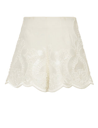 Alexis Rae High-Waist Embroidery Short
