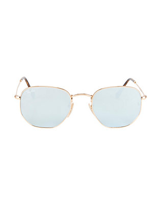 Hex Metal Frame Sunglasses