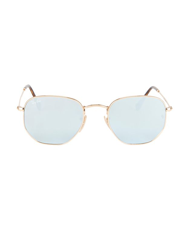 Ray-Ban Hex Metal Frame Sunglasses
