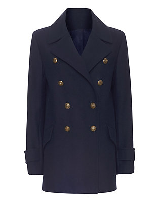 Exclusive for Intermix Navy Peacoat