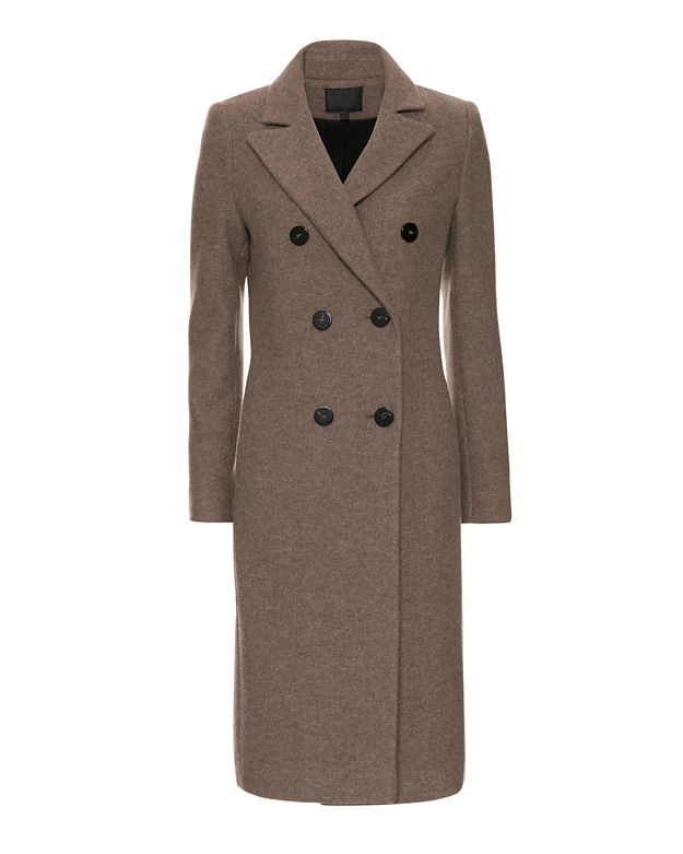 Exclusive For Intermix Double Breasted Knee Length Coat