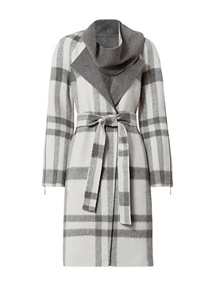 Exclusive for Intermix Grant Plaid Coat