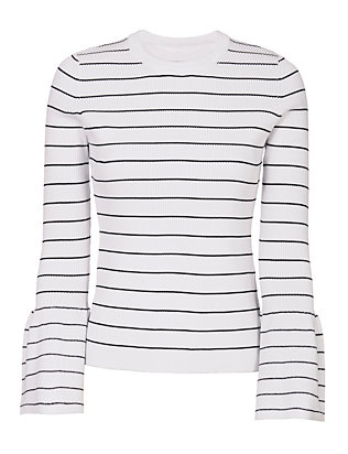 Exclusive for Intermix Jennifer Striped Knit Top