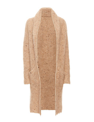 Exclusive for Intermix Flecked Yarn Long Cardi