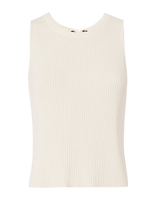 Exclusive for Intermix Mia Lace-Up Back Knit