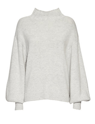 Exclusive for Intermix Blouson Sleeve Knit Turtleneck