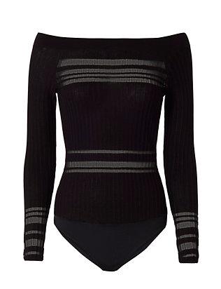 Willa Off The Shoulder Bodysuit- FINAL SALE