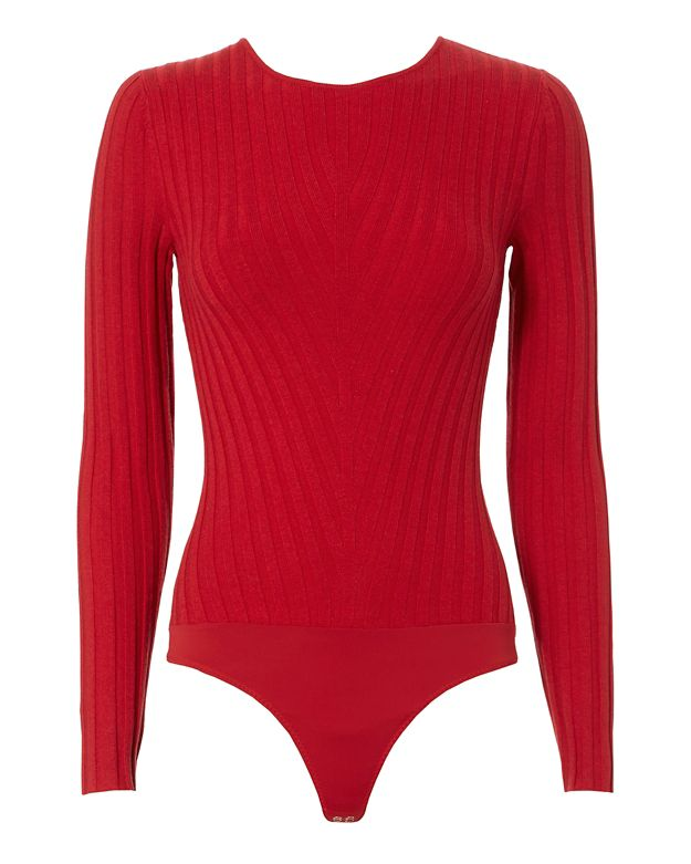 Exclusive for Intermix Casey Knot Back Bodysuit