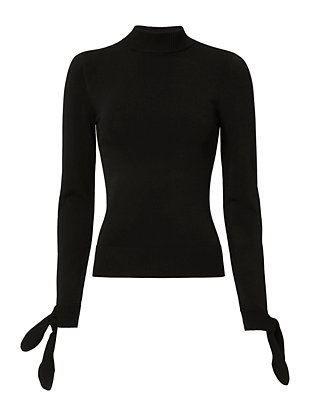 Exclusive for Intermix Tabitha Tie Back Sweater