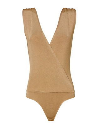 Exclusive for Intermix Lea Rib Knit Bodysuit