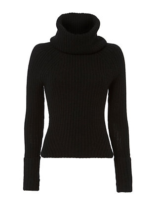 Exclusive for Intermix Spring Chunky Knit Turtleneck