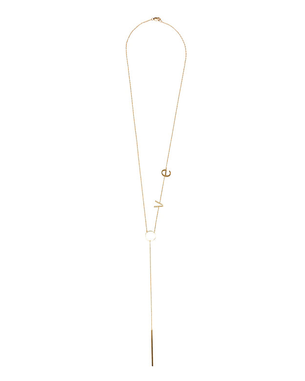 Jennifer Zeuner LOVE Necklace