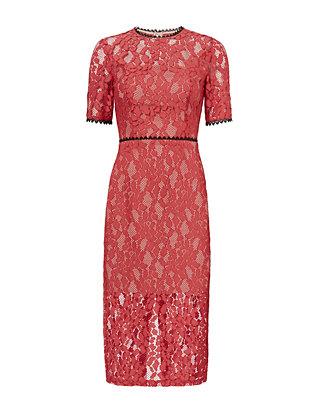 Remi Midi Lace Dress