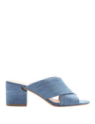 Rhoda Denim Sandals