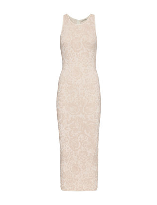 Ronny Kobo Rona Embossed Jacquard Dress