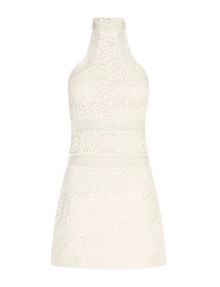 Alexis Robin Sleeveless Organza Lace Dress