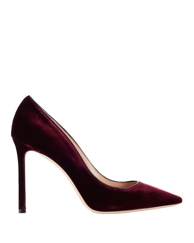 Jimmy Choo Romy Velvet Pumps