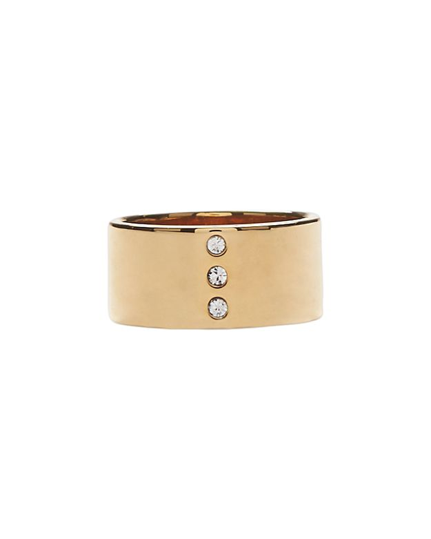 Vita Fede Tre Solitaire Pinky Ring