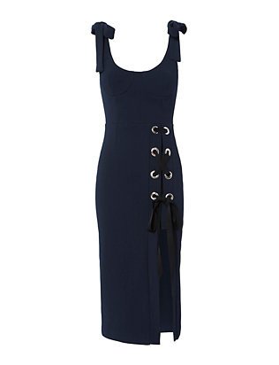 Rebecca Vallance Breakers Split Dress