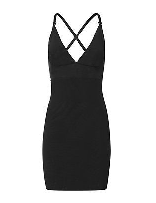 Rita Black Slip Shapewear- FINAL SALE