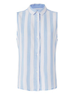 Rails Mila Striped Sleeveless Shirt