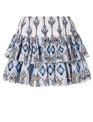 Caroline Constas Annabelle Embroidered Skirt