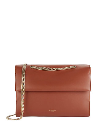 Nina Ricci Mado Gold-Tone Chain Shoulder Bag