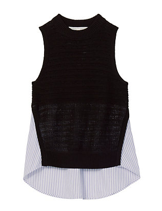 Veronica Beard South Beach Sleeveless Combo Knit