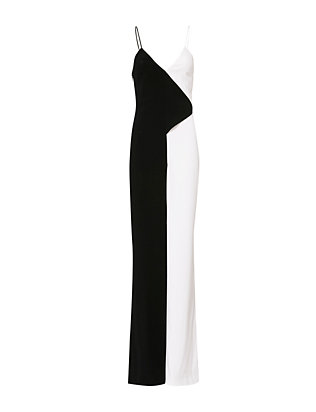 Cushnie Et Ochs Elvira Two Tone Jumpsuit