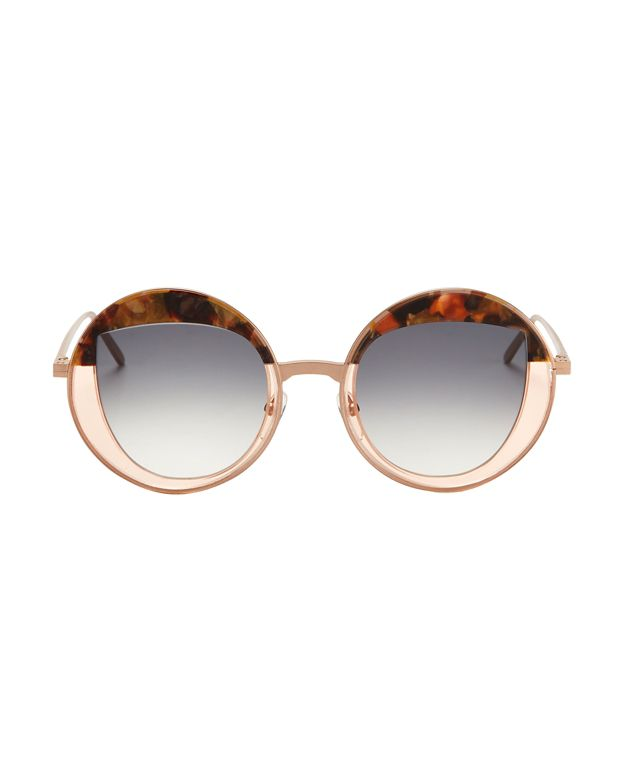 Peter & May Walk Cloud Cuckoo Land Round Sunglasses
