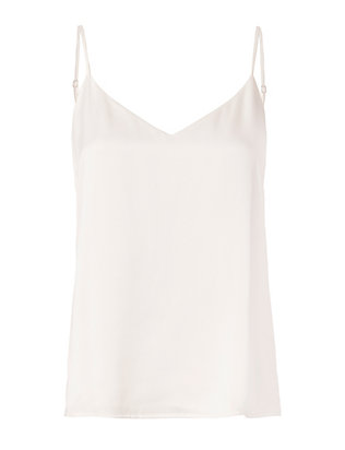 L'Agence Jane White Satin Tank