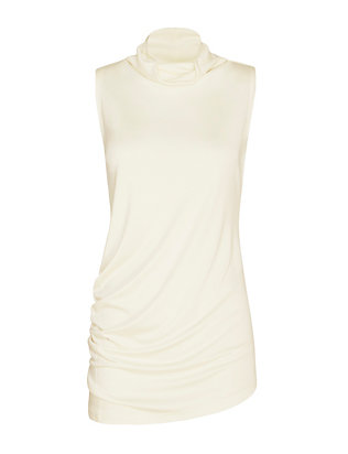 Joseph Asymmetric Cowl Neck Top