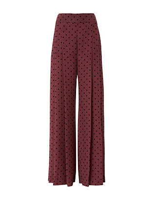 See By Chloé Dot Wide-Leg Pants