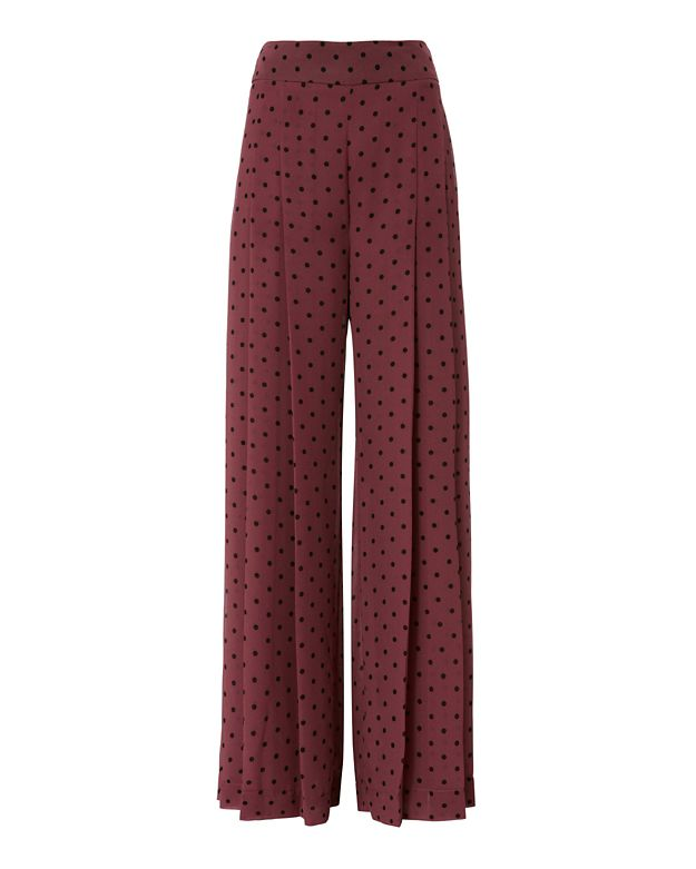 See By Chloe Dot Wide Leg Pant