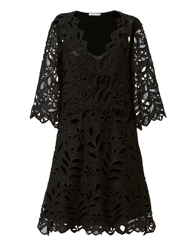See By Chloe Floral Velvet Dress