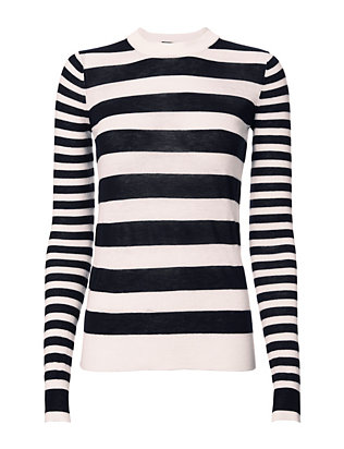 Joseph Striped Cashmere Sweater
