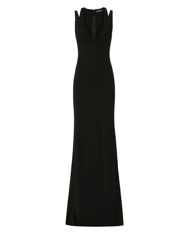 DSQUARED2 Split Strap Gown
