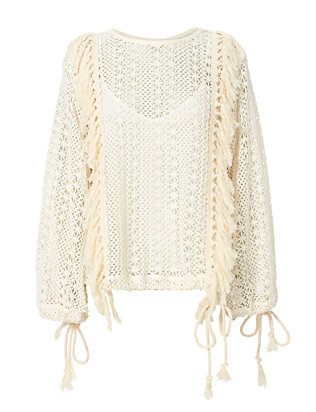 See By Chloé Crochet Pullover