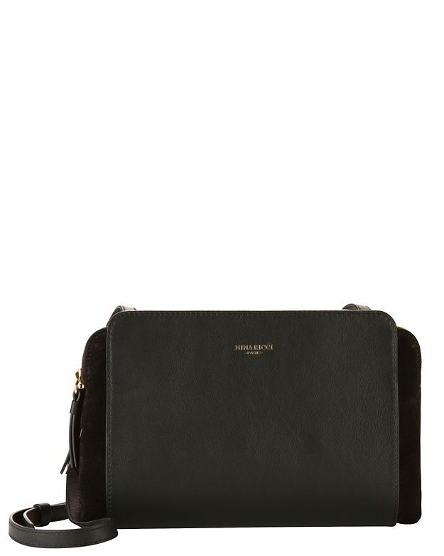 Nina Ricci Marche Duo Crossbody: Black