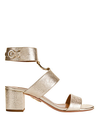 Safari Metallic Sandals
