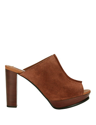 See By Chloe Alex Stitch Detail Suede Sandal