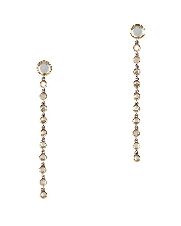 SheBee Grey Topaz Drop Earrings