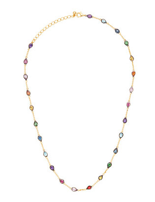 SheBee Rainbow Sapphire Necklace