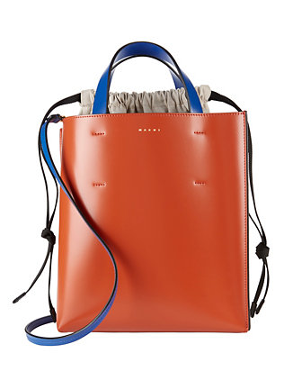 Marni Colorblock Shopper Tote